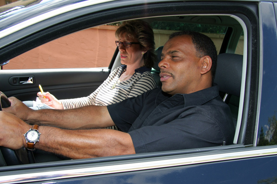 Praktische Führerscheinprüfung